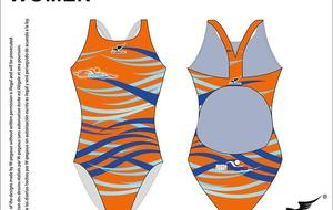 Maillot Femme FrontSwimmers Marseille