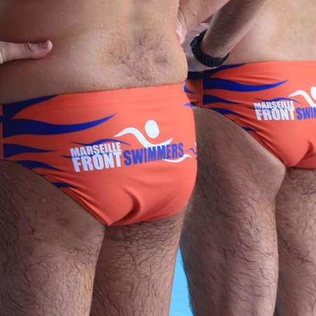 Les maillots des FrontSwimmers